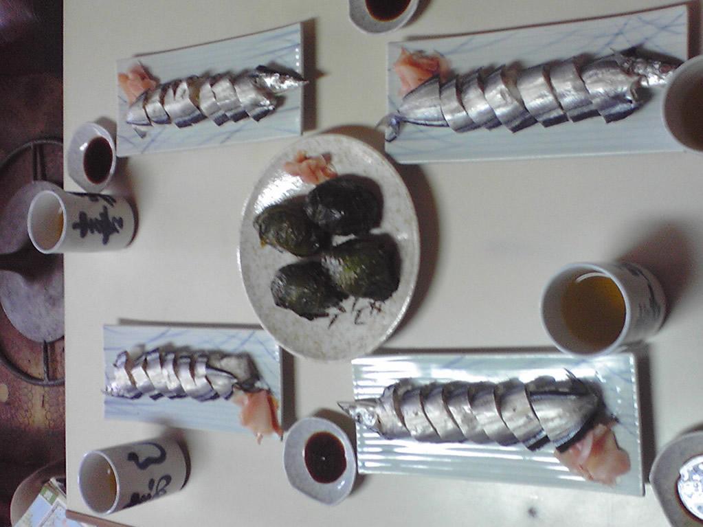 さんま&めはり寿司