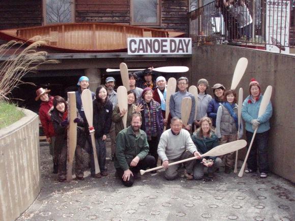 Canoe day ワークショップ参加者集合写真