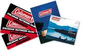 コールマンアウトドアクラブ入会で製品カタログとオリジナルステッカーをプレゼント