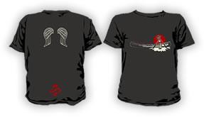 四万十塾×Coleman コラボTシャツ black